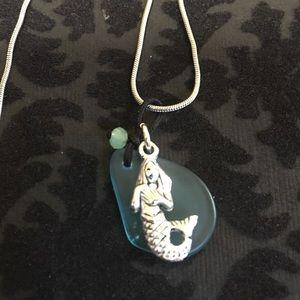 Mermaid or seahorse necklace